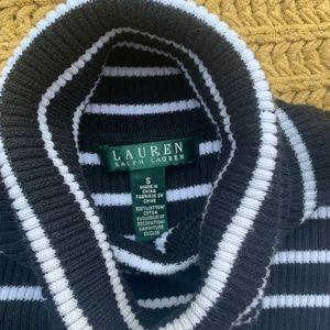 Ralph Lauren Sweaters - Ralph Lauren Black & White Turtleneck Sweater
